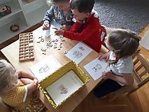 Hračky - Kreatívne písmenká ABECEDA – tvorenie prvých slov - 10025859_