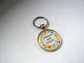 Kľúčenky - Kľúčenka - Najlepšia pani učiteľka - 10026156_