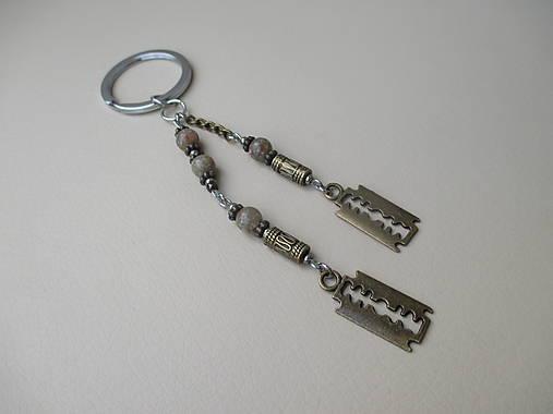 04227c8f5 Kľúčenka pre pánov - žiletky... / AOLEON - SAShE.sk - Handmade Iné