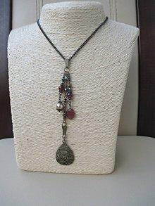 Náhrdelníky - Vintage náhrdelník - 10026231_