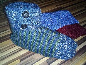 Obuv - Členkové papuče pánske - 10027415_
