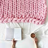 Úžitkový textil - Merino obria deka - 60x80 (8) - 10025736_