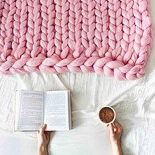 Úžitkový textil - Merino obria deka - 60x80 - 10025736_