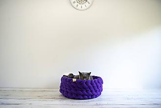 Košíky - Posteľ / Brloh / Košík / Pelech pre domácich maznáčikov - Ø 35 cm - 10026023_