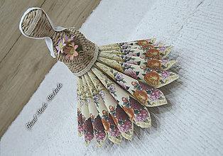 Dekorácie - tanečnica a srdce - 10025542_