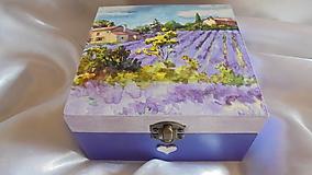 Krabičky - Krabicka na caj - 10027369_
