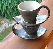 Nádoby - Šáločka na kávičku...2 v 1 - 10026367_