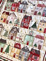"""Dekorácie - Adventný kalendár """"Domčeky"""" - 10028640_"""