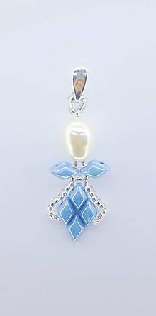 Iné šperky - Anjel nebeský prívesok - 10028889_