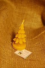 Svietidlá a sviečky - Sviečka stromček malý - 10028675_
