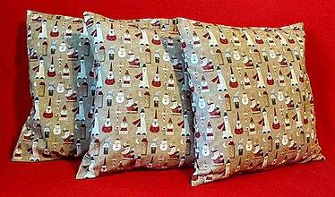 Úžitkový textil - Vianočná obliečka - 10027230_