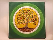 Obrazy - Strom života 45x45cm (piesok) 130,-€ - 10026054_