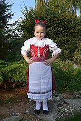 Iné oblečenie - Dievčenský kroj - 10027521_
