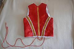 Iné oblečenie - saténový živôtik - 10027565_