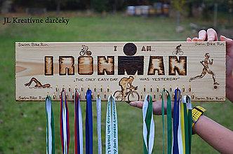 Iné doplnky - Držiak na medaily Ironman - 10026514_