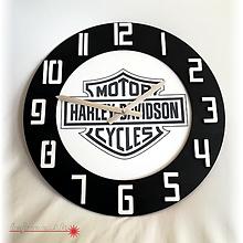 Hodiny - Vyrezávané 3D nástenné hodiny HD - 10025114_