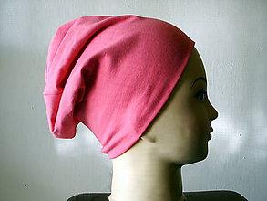 Detské čiapky - dvojvrstvová čiapka - 10026247_