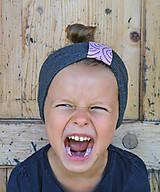 Detské čiapky - ČELENKA - uchokrytka - 10026661_