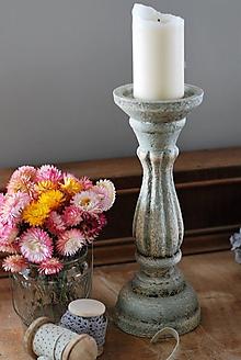 Svietidlá a sviečky - Svietnik Antik - 10028920_