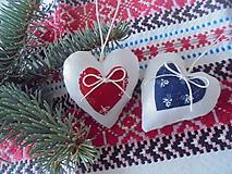 Dekorácie - Vianočné ozdoby folk- na ľudovo  1 - 10026606_