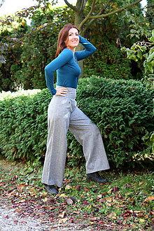 Nohavice - sivé nohavice - 10029335_