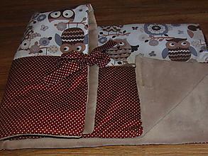 Textil - Detská deka s mašličkami - 10029444_