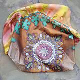 V cípe harmónie-hodvábna maľovaná šatka