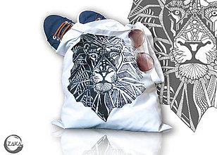 Nákupné tašky - Nákupná taška - Lev - 10029253_