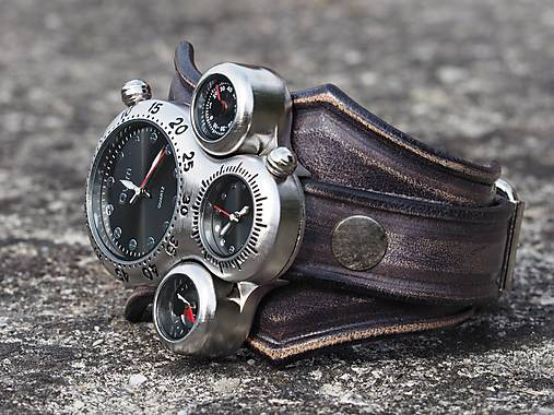 0d353f7b6 Alien Hodinky, originálne pánske hodinky vintage čierna / leon ...