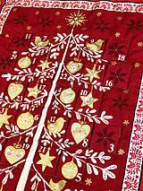"""Dekorácie - Adventný kalendár """"Stromček"""" - 10032480_"""