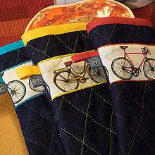 Úžitkový textil - Chňapka - Bicy - 10031037_