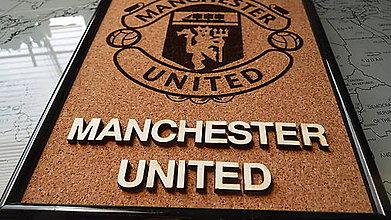 Obrázky - 3D obraz: Manchester United (Ružová) - 10030366_