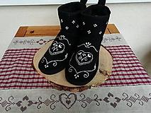 Obuv - Folklórne papučky - 10030141_