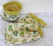 Úžitkový textil - Bylinkové vrecúška - 10031141_