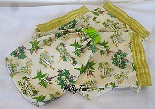 Úžitkový textil - Bylinkové vrecúška - 10031140_