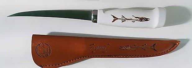 Nože - Nôž filetovací a kožené púzdro 0 - 10032598_