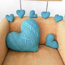 Dekorácie - Dekoračny pleteny set Valentin - 10029229_