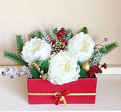 420359e4a Dekorácie - Vianočný aranžman - 10029399_