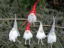 Dekorácie - Vianočný škriatok. - 10030467_