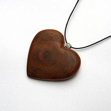 Náhrdelníky - Srdce čerešne - 10030913_