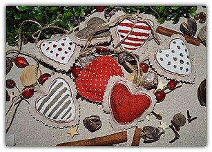 Dekorácie - Vianočné ozdoby - vidiecke vianoce - 10034693_
