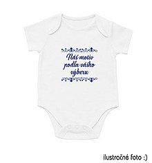 Detské oblečenie - Detské body s krátkym rukávom - 10033535_