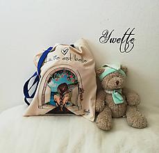 Nákupné tašky - YWETTE: život je krásny - 10033375_