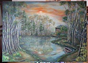 Obrazy - Uprostred tichého lesa - 10032826_