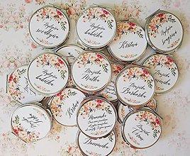 Darčeky pre svadobčanov - Svadobné zrkadielko - 10035597_