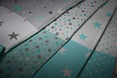 Textil - Mantinel do postieľky*hviezdičky* - 10035092_