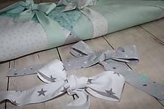 Textil - Mašľa/viazačka *hviezdy* - 10035146_