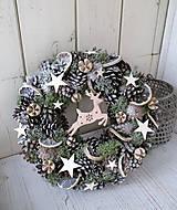 Dekorácie - venček vianočný - 10034789_