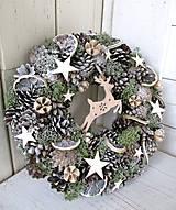 Dekorácie - venček vianočný - 10034790_