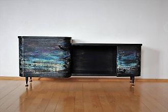 Nábytok - skrinka pod televízor - 10033604_